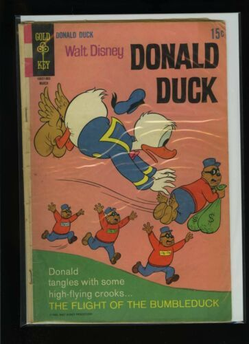 Primary image for Walt Disney's Donald Duck #124 G 1969 Gold Key Comic Book