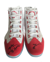 """ALLEN IVERSON SIGNED Q96 REEBOK SHOES INSCRIBED """"ANSWER"""" PAIR JSA COA - $1,529.15"""