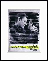 Legends 2014 TNT 11x14 Framed ORIGINAL Advertisement Sean Bean B - $32.36