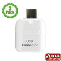 Samsung Galaxy S8/S9Plus Note8 S8/S9 USB C Connector OTG Adapter Data Tr... - $8.46