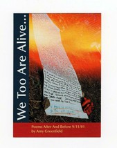 "POSTCARD-  ""UNITED WE STAND FLAG STAMP"" CARD-""WE TOO ARE ALIVE"" BK14 - $2.45"