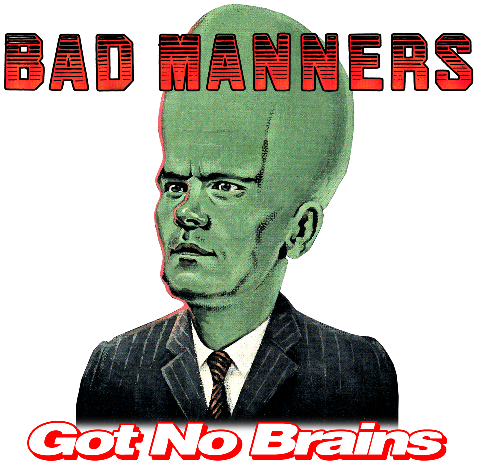 Got No Brains ladies t-shirt ska 2Tone bad manners skinhead specials madness