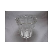 Eapg GLASS PICKLE CASTOR JAR Vertical Ribbon Pattern pressed Early vtg a... - $37.02