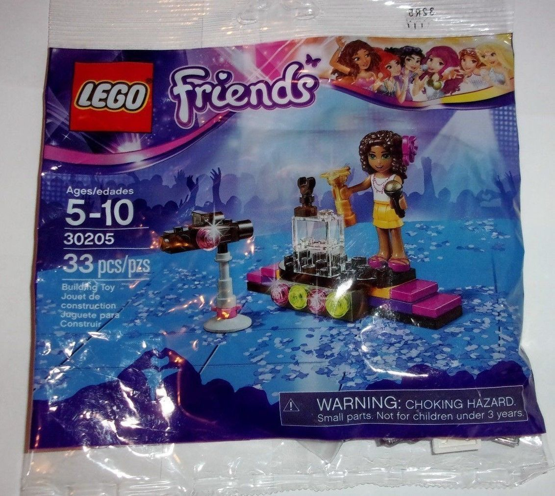 Lego Friends Polybag 30205 Pop Star Red Carpet [New] Building Toy