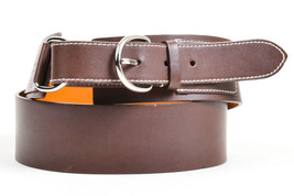 Lambertson Truex Brown Leather Waist Belt SZ L - $50.00