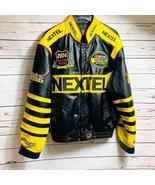 Men's 2004 NASCAR Nextel Cup Leather Jacket Size L - $88.11
