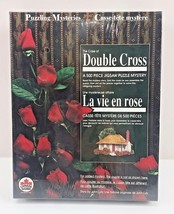 Mystery Jigsaw Puzzle Thriller DOUBLE CROSS BePuzzle John Lutz Bilingual... - $14.49
