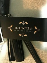 NWT - NANETTE LEPORE Women's 'CHARGING WRISTLET' 69403665 Black WALLET-NEW/TAGS