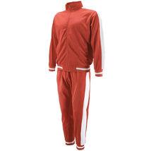 vkwear Men's Striped Athletic Running Jogging Gym Slim Fit Sweat Track Suit Set image 14