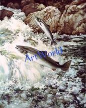Digital download,Salmon fish,Photography,Christmas decor,Wall art,Printable - $4.50