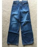 Gap Kids Boot Cut Denim Jeans Boys size 12 Adjustable Waist Elastic Loos... - $7.91
