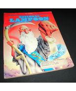 NATIONAL LAMPOON MAGAZINE Jan 1975 No Issue Cheech Wizard Condom Satire ... - $24.99