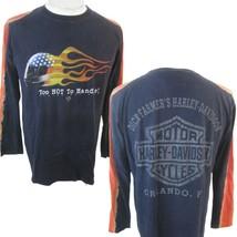 HARLEY DAVIDSON T Shirt Unisex Dick Farmer's Orlando Florida sz M vintag... - $25.86