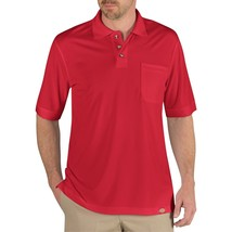 Dickies Men's Red Size 3XL Industrial Performance Polo Shirt - $14.50