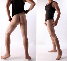 Full Seamless Men's Pantyhose Bodyhose Stockings Sexy Tights Nylons DIY Any Cut - $16.54