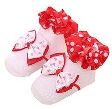 Newborn Baby Lace Socks Stereo Socks Floor Socks 0-1 Years Old