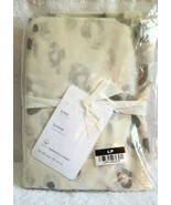 Pottery Barn WHITE SNOW LEOPARD Organic Percale KING Pillow SHAM NEW #P149 - $35.00