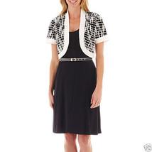 R&K Originals Belted Dress with Bolero Jacket New Size S, M MSRP $70.00 - $24.99