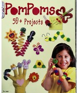 Pompoms : 50+ Projects Activity Book Kids Crafts Scouts Rainy Day Activi... - $3.76