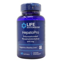 Life Extension HepatoPro PPC Polyunsaturated Phosphatidylcholine 900mg 60 gels - $33.61