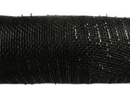 Black 6 inch Deco Mesh, 5 yards