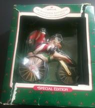 Vintage 1988 Hallmark Keepsake The Wonderful Santa cycle Ornament - $14.82