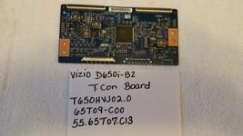VIZIO D650i-B2 T-Con Board T650HVJ02.0, 65T09-C00, 55.65T07.C13 - $29.69