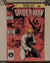 Web of Spider-Man #30 (Sep 1987, Marvel) The Origin of the Rose Revealed! - $3.69