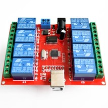 8 channel 12V relay module /computer USB control switch / driver / PC In... - $22.76