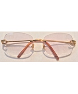 Cartier Decor 18k Yellow Gold Light Purple Lavender Sunglasses Frames 18... - $549.99