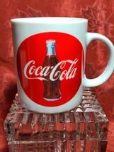 1992 COCA COLA Coke COFFEE MUG Original Ceramic image 1