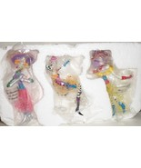 Ashton Drake Dolly Mamas 2009 tree ornaments set 3 Its Happy Hour Somewh... - $57.77