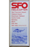 SFO Helicopter Schedule Oct 1966 San Francisco Oakland - $9.99