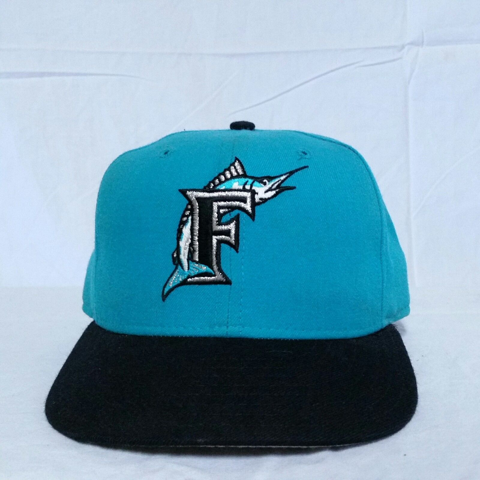 da15335992200 VTG Florida Marlins New Era Fitted Hat 7 1/4 and 50 similar items