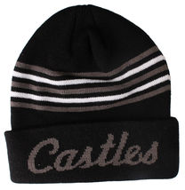 Crooks and Castles Mens Core Striped Knit Beanie NWT image 3