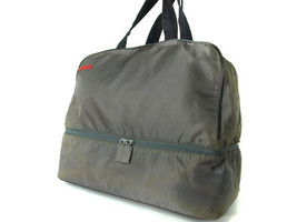 Authentic PRADA SPORT Nylon Canvas Gray Sports Hand Bag PB9093L - $165.00