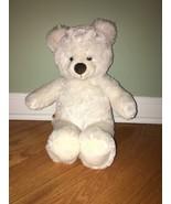 "Build A Bear Pure White Bear Teddy Bear stuffed 15"" Plush - $9.90"