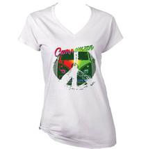 CAMPERVAN RETRO 2 - NEW WHITE COTTON LADY T-SHIRT - $19.53