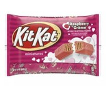 Kit Kat Miniatures Pink Raspberry Creme 9 oz Bag BB 12 2021 NEW
