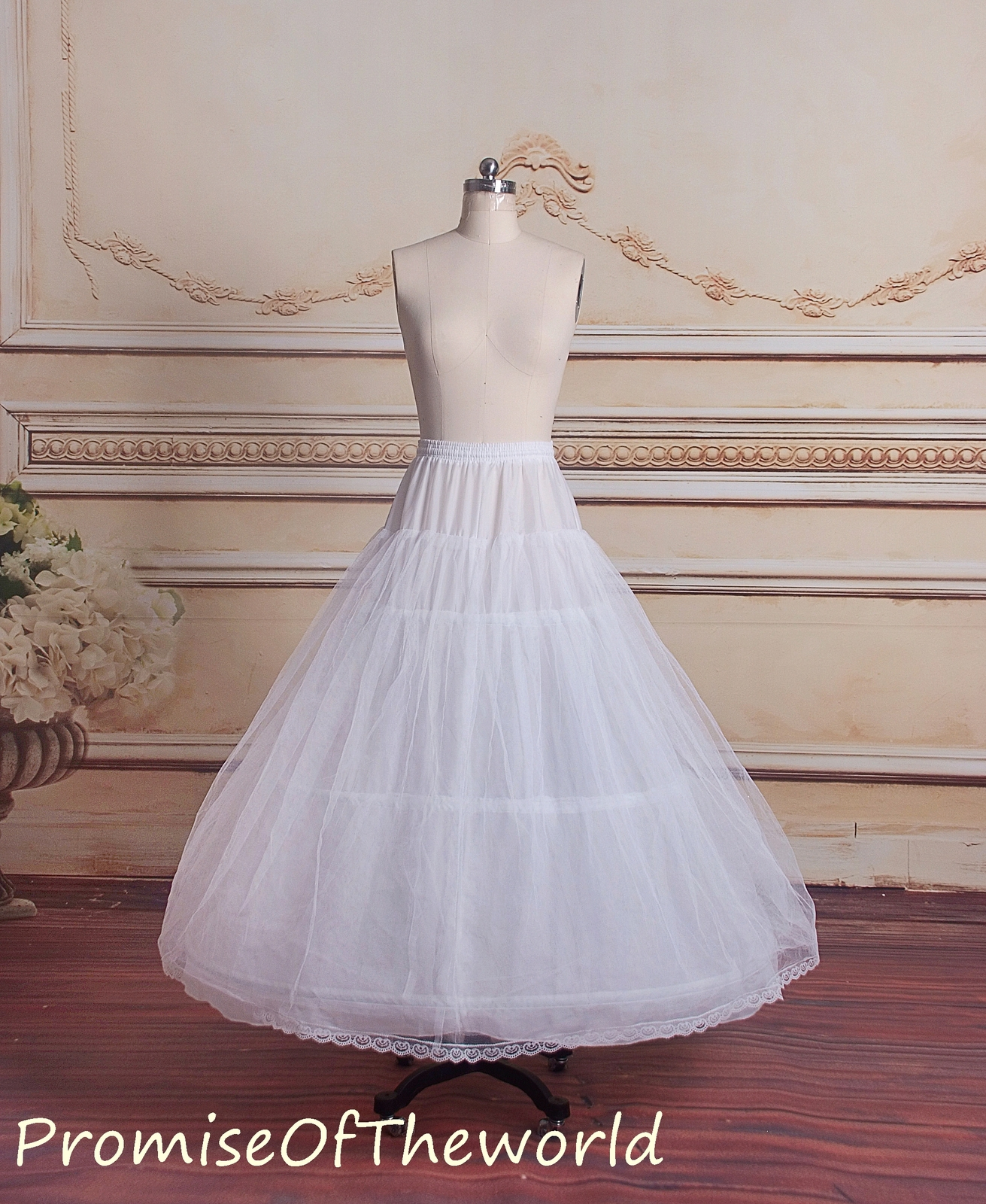 99a5df432de5e Ivory 3 hoops petticoat for ball gown and 50 similar items