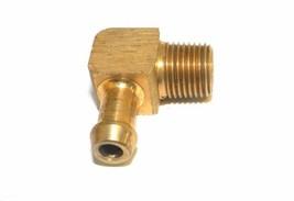 "Big A Service Line 3-83124 Brass 1/8"" Thread x 1/4"" Metal Barbed Tube Fi... - $12.75"