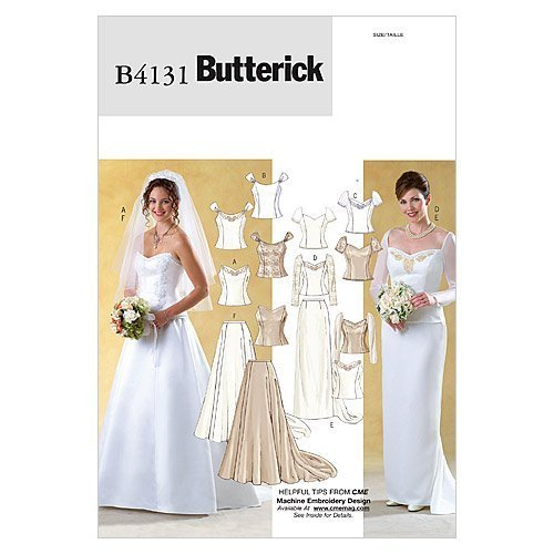 Butterick Patterns B4131 Misses' Top and Skirt, Size 6-8-10 - $14.70