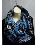 Handmade SCARF pocket zipper infinity GVSU hidden conceal stash cotton n... - €27,23 EUR