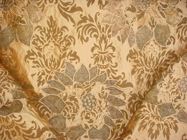 3-1/2Y COLEFAX & FOWLER SHEER FLORAL WINDOW SILK DRAPERY UPHOLSTERY FABRIC - $131.67