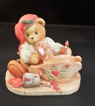 """Cherished Teddies-Ginger-Painting Your Holidays With Love"""" 1995 P.H. - $8.50"""