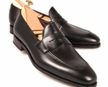 Handmade men black shoes  men leather shoes  men dress loafer shoes for men thumb155 crop