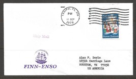 1976 Paquebot Cover Finland stamp used in Tampa Florida (18 Sep) - $5.00
