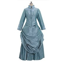 1791's lady Historic Victorian Bustle Gown from Bram Stoker's Medieval D... - £121.47 GBP