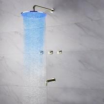 Fontana Oceana Ceiling Mount Shower Set Without LED Lights BSTO6102R - 1... - $797.98