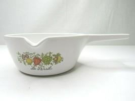 Vintage Corning Ware Le Persil Bowl w/ Pouring Spout Handle P-89-B Spice... - $12.35